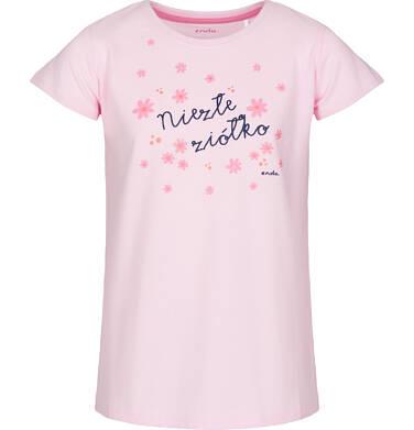 Endo - Piżama z krótkim rękawem dla dziewczynki 9-13 lat D91V503_1