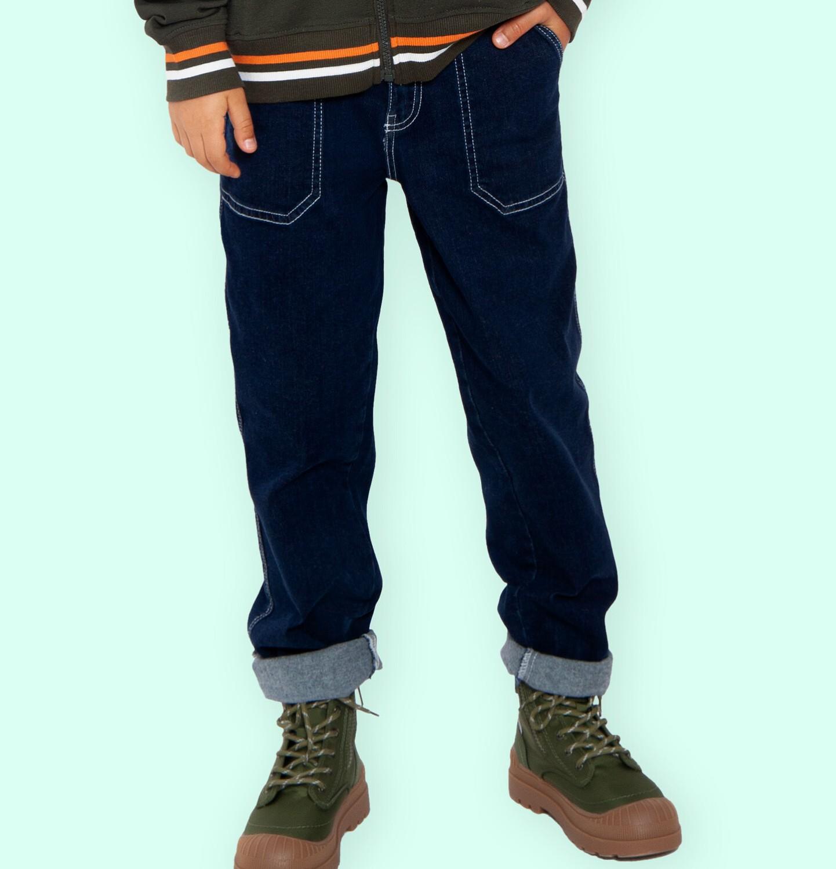 Endo - Spodnie jeansowe dla chłopca, 2-8 lat C04K039_2