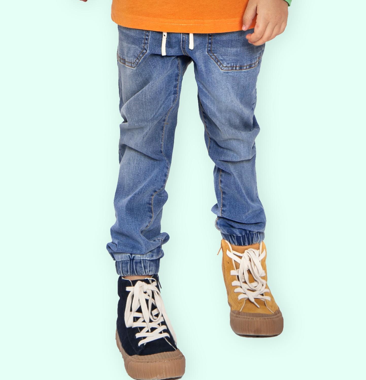 Endo - Spodnie jeansowe dla chłopca, 2-8 lat C04K041_1