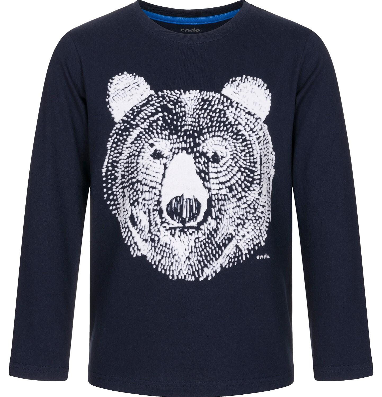 Endo - T-shirt z długim rękawem dla chłopca 3-8 lat C92G088_1