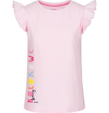 Endo - Piżama z krótkim rękawem dla dziewczynki 3-8 lat D91V006_1