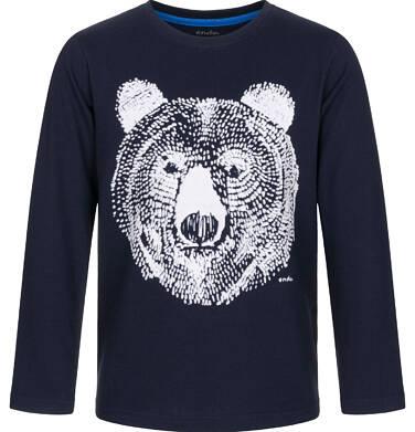Endo - T-shirt z długim rękawem dla chłopca 9-13 lat C92G588_1