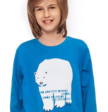 Endo - T-shirt z długim rękawem dla chłopca 3-8 lat C92G089_1