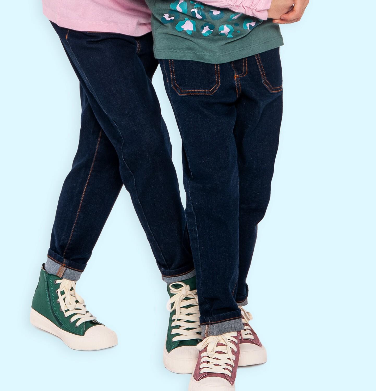 Endo - Spodnie jeansowe dla dziewczynki, 9-13 lat D04K037_2
