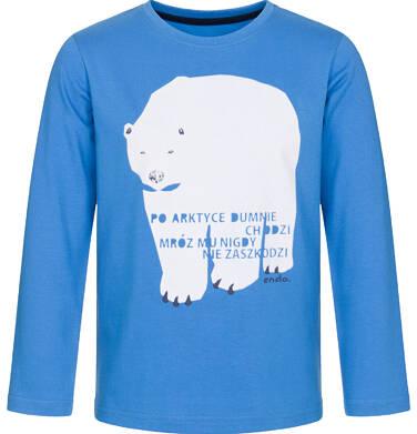 Endo - T-shirt z długim rękawem dla chłopca 9-13 lat C92G589_1