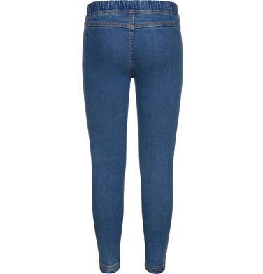 Endo - Spodnie jeansowe dla dziewczynki, jegginsy, 2-8 lat D04K040_1,2