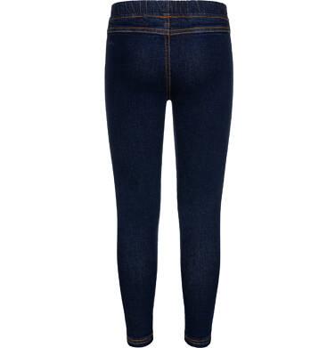 Endo - Spodnie jeansowe dla dziewczynki, jegginsy, 2-8 lat D04K040_2 2