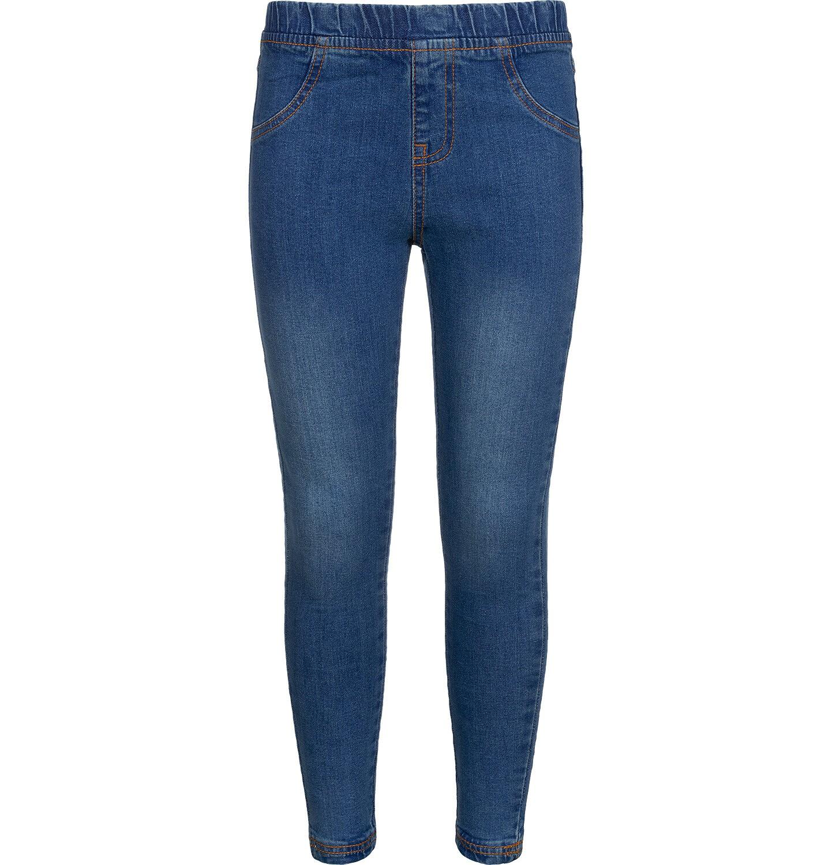 Endo - Spodnie jeansowe dla dziewczynki, jegginsy, 9-13 lat D04K041_1