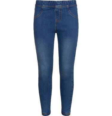 Spodnie jeansowe dla dziewczynki, jegginsy, 9-13 lat D04K041_1