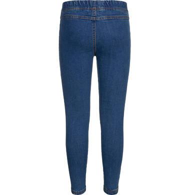 Endo - Spodnie jeansowe dla dziewczynki, jegginsy, 9-13 lat D04K041_1,2