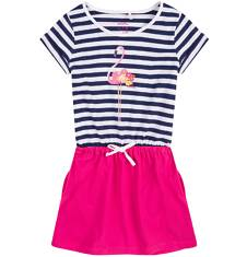 Sukienka z kieszeniami i troczkiem dla dziewczynki 9-13 lat D71H549_1