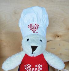 Endo - Czapka kucharska dla małego Misia SM32M045_1
