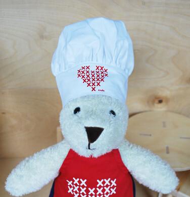 Endo - Czapka kucharska dla małego Misia SM32M045_1 6