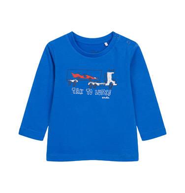 Endo - T-shirt z długim rękawem dla dziecka do 2 lat, z samochodem N04G043_1 22