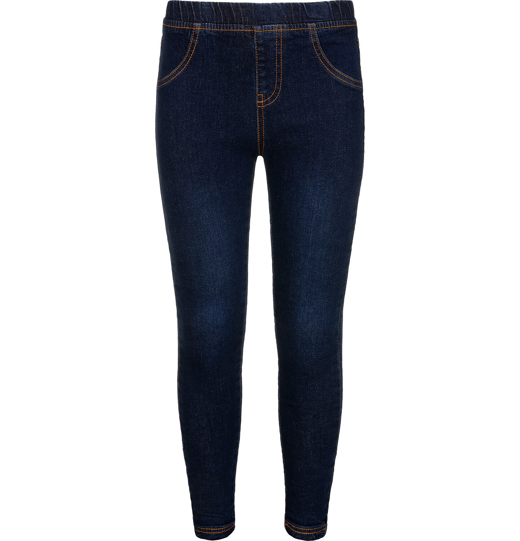 Endo - Spodnie jeansowe dla dziewczynki, jegginsy, 9-13 lat D04K041_2