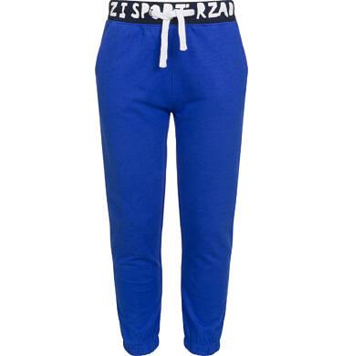 Endo - Spodnie dresowe dla chłopca, sport rządzi, ciemnoniebieskie, 2-8 lat C03K005_1