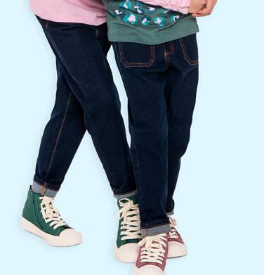 Spodnie jeansowe dla dziewczynki, 2-8 lat D04K051_2