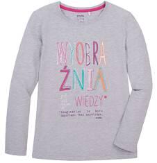 Endo - Bluzka z długim rękawem  dla dziewczynki 3-8 lat D72G145_1