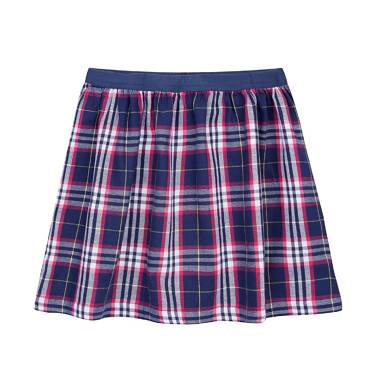 Endo - Spódnica w kratkę dla dziewczynki 3-8 lat D72J017_1
