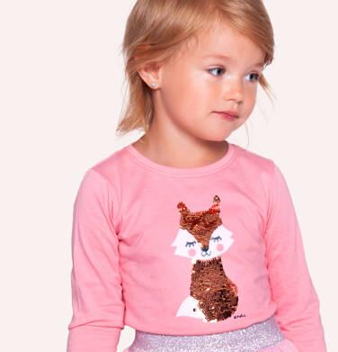 Endo - Bluzka z długim rękawem dla dziewczynki 3-8 lat D92G101_2