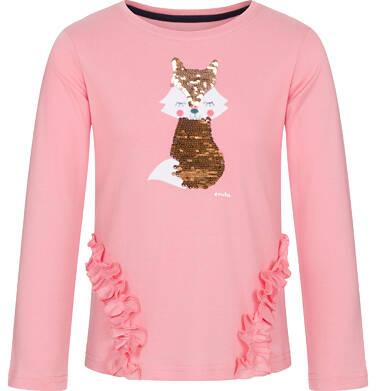 Endo - Bluzka z długim rękawem dla dziewczynki 9-13 lat D92G601_2