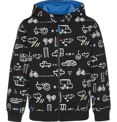 Bluza rozpinana z kapturem dla chłopca 3-8 lat C91C028_1