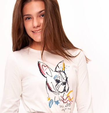 Endo - Bluzka z długim rękawem dla dziewczynki 9-13 lat D92G532_1