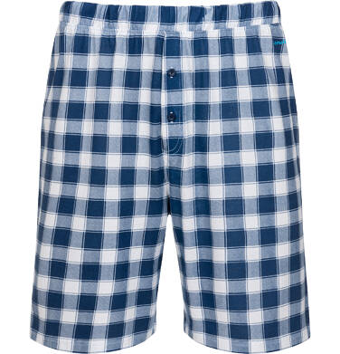 Endo - Piżama męska z krótkim rękawem, niebieska Q05V011_1 3