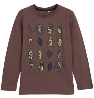 Endo - T-shirt z długim rękawem dla chłopca 3-8 lat C62G110_2