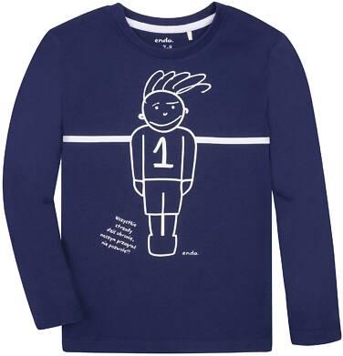 Endo - T-shirt z długim rękawem dla chłopca 3-8 lat C72G001_2
