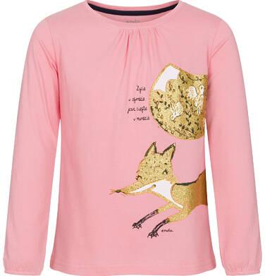 Endo - Bluzka z długim rękawem dla dziewczynki 9-13 lat D92G603_1