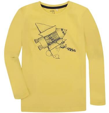 Endo - T-shirt z długim rękawem dla chłopca 3-8 lat C72G069_1