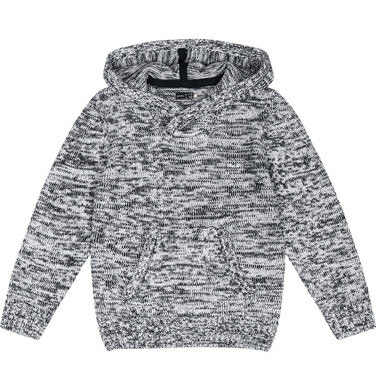 Endo - Sweter z kapturem dla chłopca 3-8 lat C82B001_1