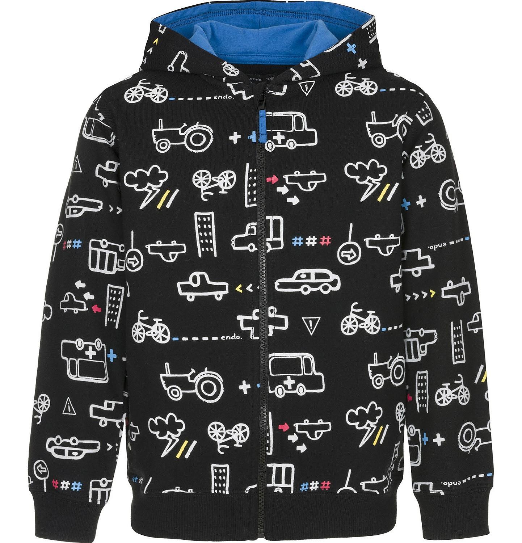Endo - Bluza rozpinana z kapturem dla chłopca 9-13 lat C91C528_1