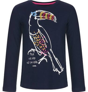 Endo - Bluzka z długim rękawem dla dziewczynki 3-8 lat D92G033_1