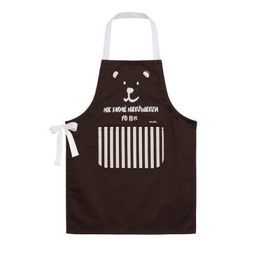 Endo - Dziecięcy fartuch kuchenny, brązowy SD04U001_1 75