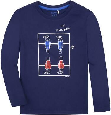 Endo - T-shirt z długim rękawem dla chłopca 3-8 lat C72G004_3