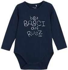 Body z długim rękawem dla niemowlaka N62M008_1