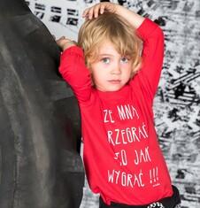 Endo - T-shirt z długim rękawem dla chłopca 3-8 lat C72G008_2