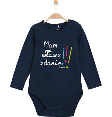 Body z długim rękawem dla niemowlaka N62M027_1