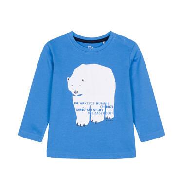 T-shirt z długim rękawem dla dziecka 0-3 lata N92G065_1