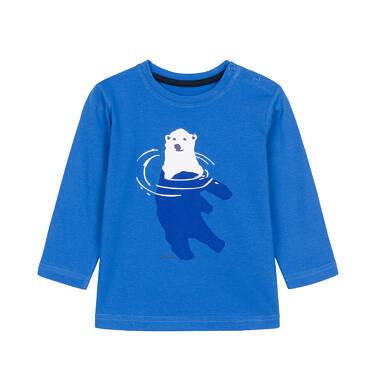 T-shirt z długim rękawem dla dziecka 0-3 lata N92G068_1