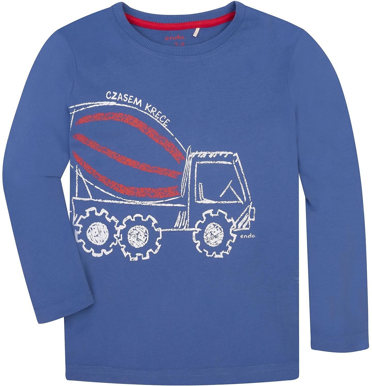 Endo - T-shirt z długim rękawem dla chłopca 3-8 lat C72G037_1