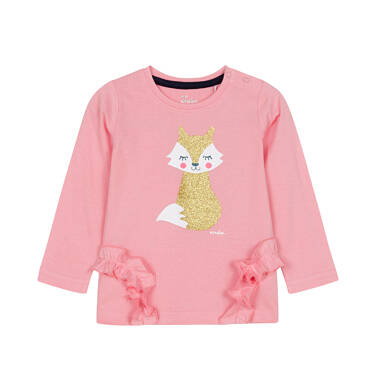 Endo - Bluzka z długim rękawem dla dziecka 0-3 lata N92G105_2