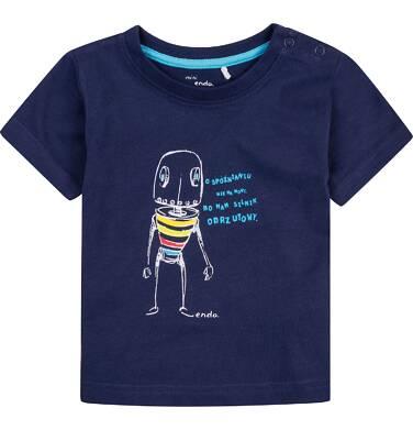 Endo - Bluzka z krótkim rękawem  dla dziecka 0-3 lata N71G099_1