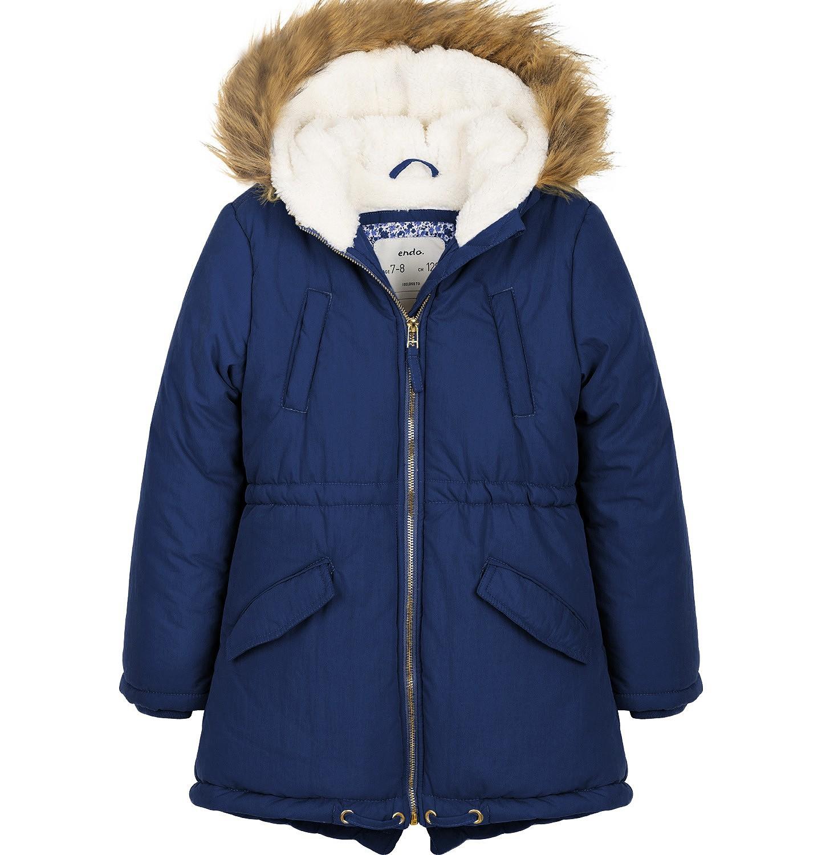 Endo - Parka zimowa dla dziewczynki 9-13 lat D82A512_3