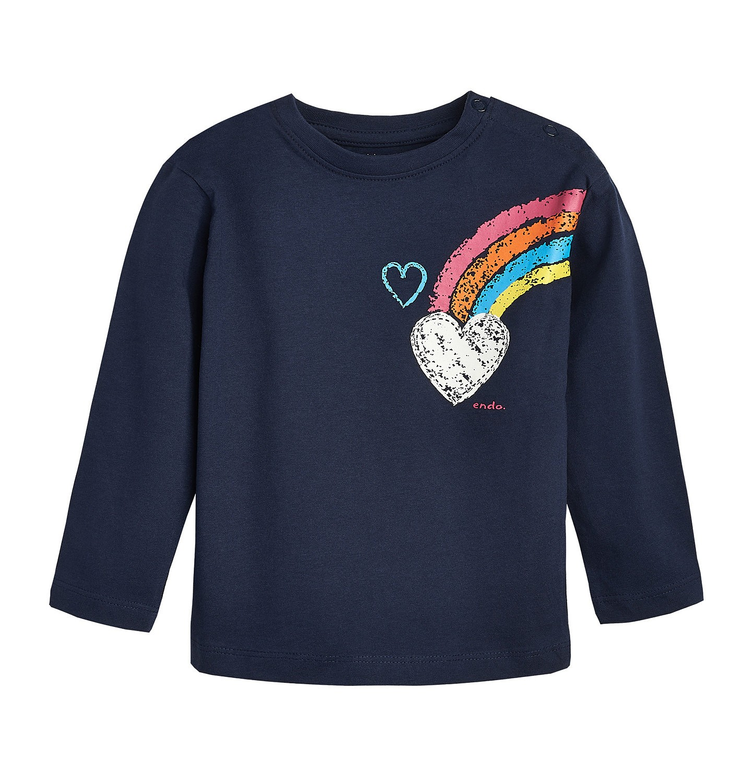 Endo - T-shirt z długim rękawem dla dziecka 0-3 lata N82G055_1