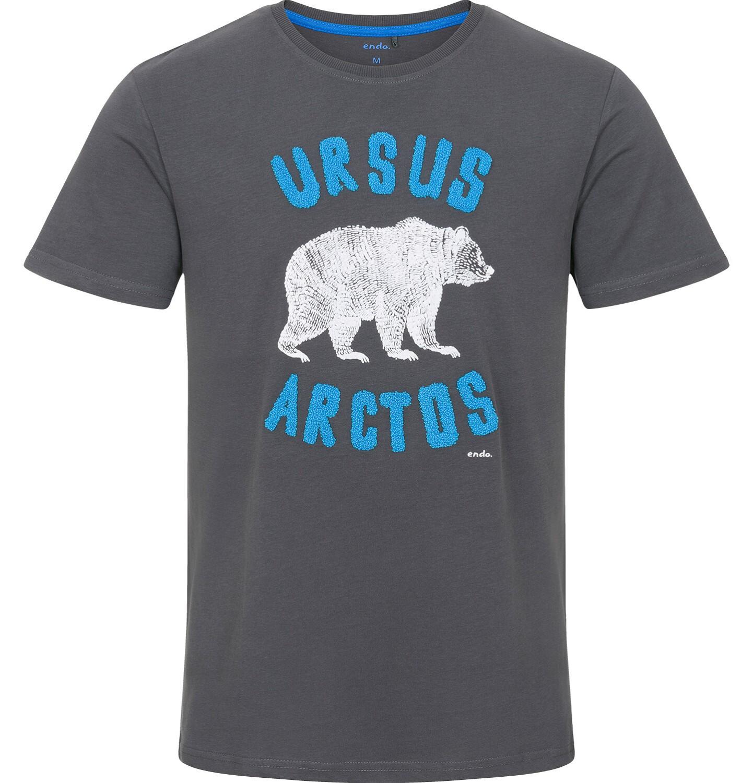 Endo - T-shirt męski z krótkim rękawem Q92G013_1