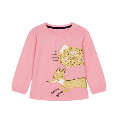 Endo - Bluzka z długim rękawem dla dziecka 0-3 lata N92G106_1