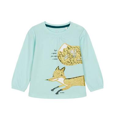 Endo - Bluzka z długim rękawem dla dziecka 0-3 lata N92G106_2
